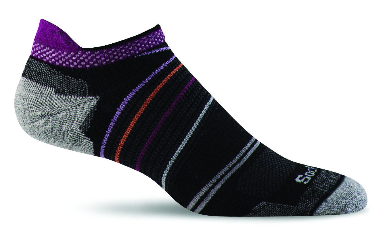 Sockwell Pacer Micro black light cushion sole